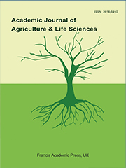 Academic Journal of Agriculture & Life Sciences | Francis Academic Press