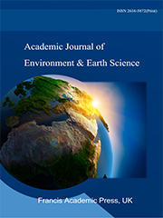 Academic Journal of Environment & Earth Science | Francis Academic Press