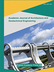 Academic Journal of Architecture and Geotechnical Engineering | Francis Academic Press