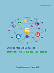 Academic Journal of Humanities & Social Sciences | Francis Academic Press