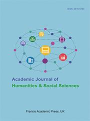 Academic Journal of Humanities & Social Sciences | Francis Academic Press